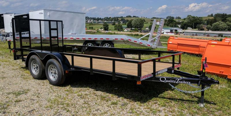 NEW 2019 Quality 6x16 Econo Utility Trailer w/ No Dove