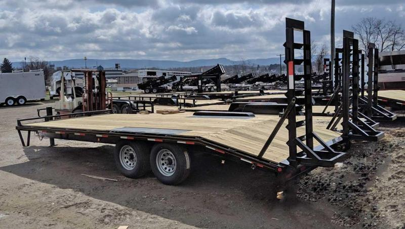 NEW 2019 Quality 18+4 General Duty Tagalong Deckover Equipment Trailer