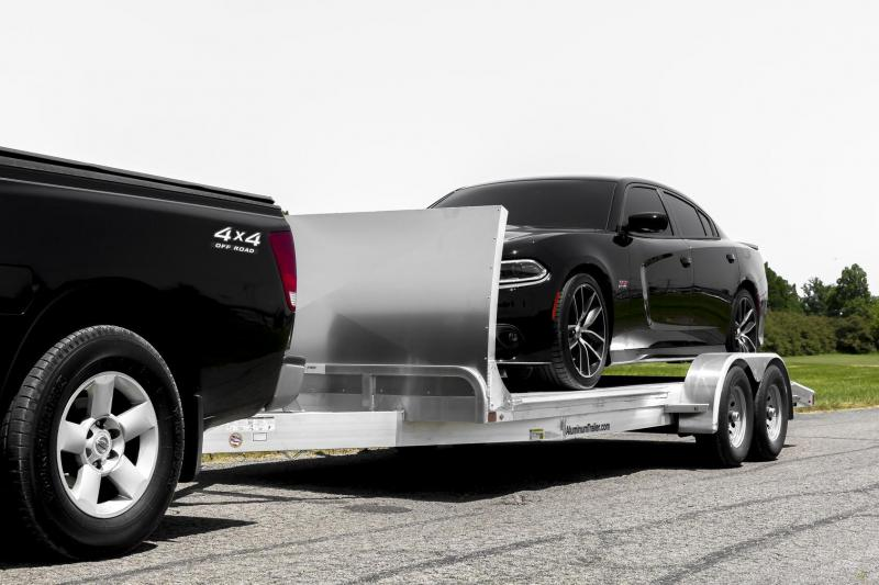"""NEW 2018 ATC 20' HD """"ARROW CHX"""" Car Hauler (shown with optional air dam not included in price)"""