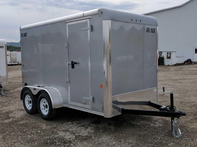 2018 Car Mate 6X12 HD Custom Enclosed Cargo Trailer w/ Ramp