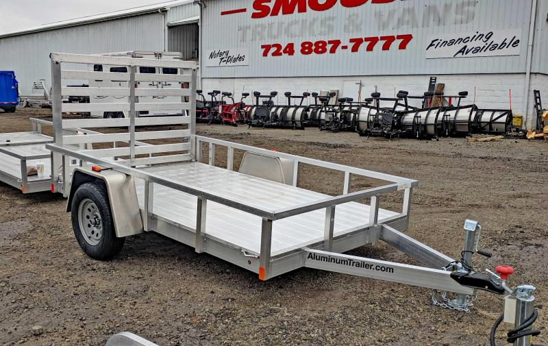 NEW 2018 ATC 6x10 Aluminum Utility Trailer w/Removable Drop Down Gate