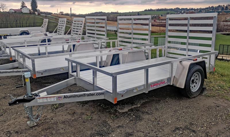 NEW 2018 ATC 6x10 Aluminum Utility Trailer