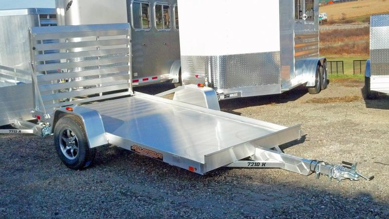 NEW 2017 Aluma 6x10 HD Aluminum Utility Trailer