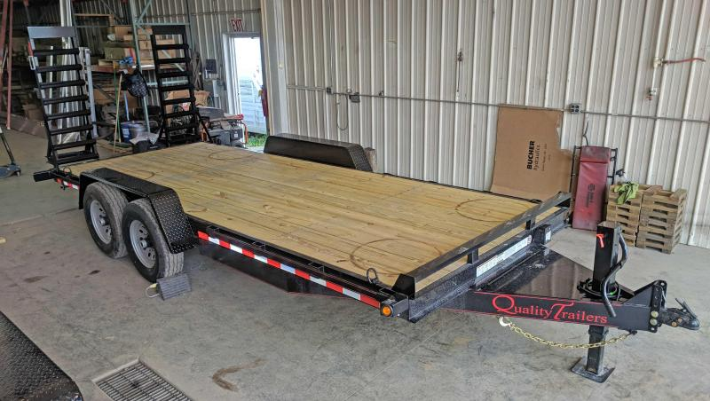 NEW 2020 Quality 18' PRO Equipment Hauler (No Dove)