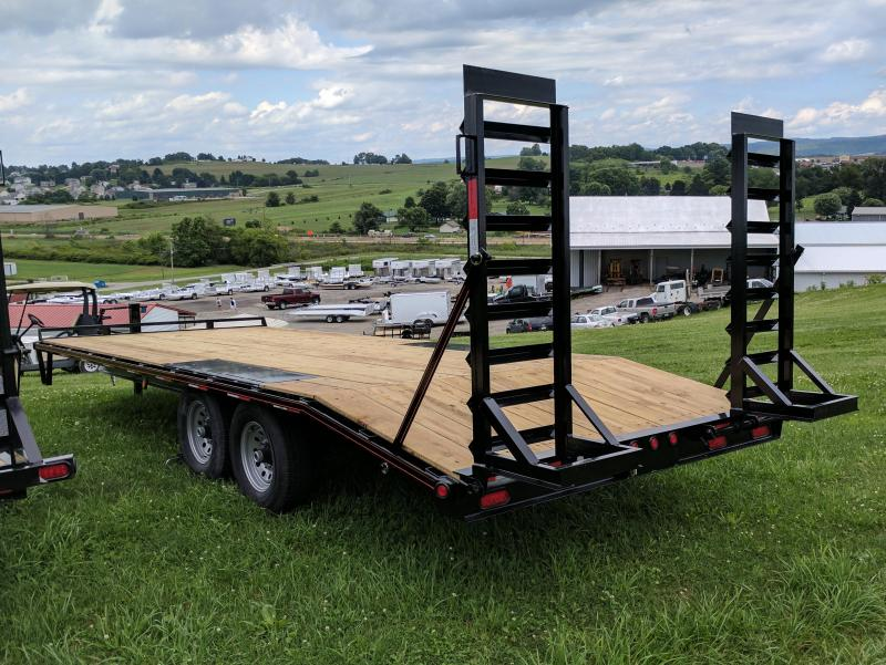 NEW 2019 Quality 18+4 HD Deckover Tagalong w/ Stand Up Ramps
