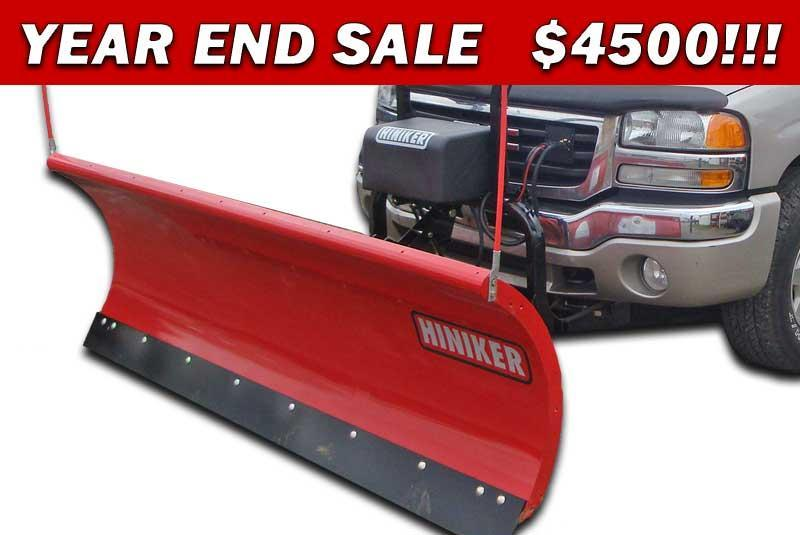 NEW 2018 Hiniker 8.5' HD Full Trip Conventional Steel Snow Plow