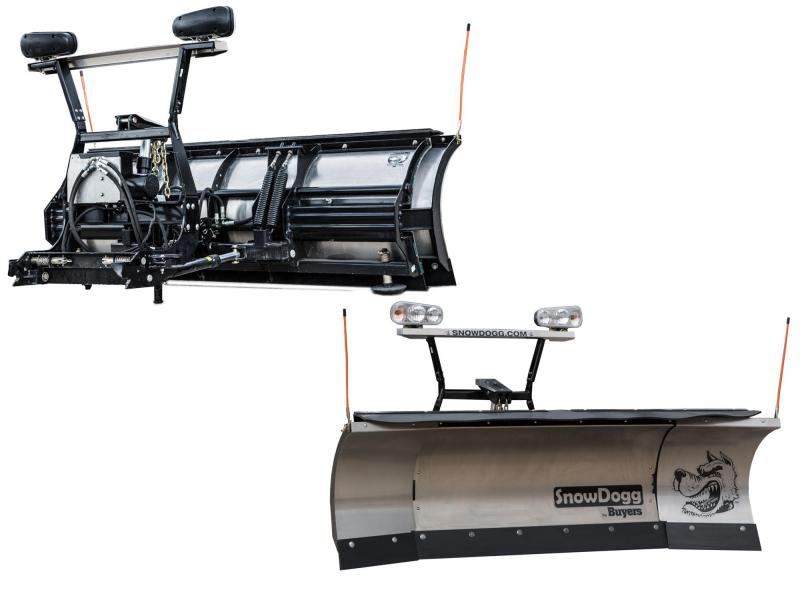 NEW SNOWDOGG 8' - 10' Expandable Stainless Steel Snow Plow