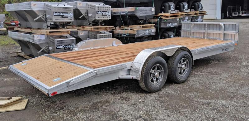 NEW 2021 Legend 18' Open Car Hauler w/ Wood Deck