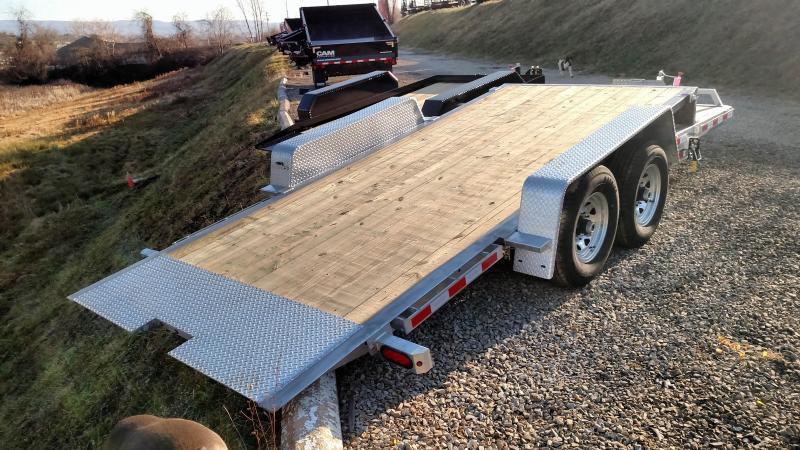 NEW 2018 Load Rite 4+16 Lo Pro Split Tilt Trailer