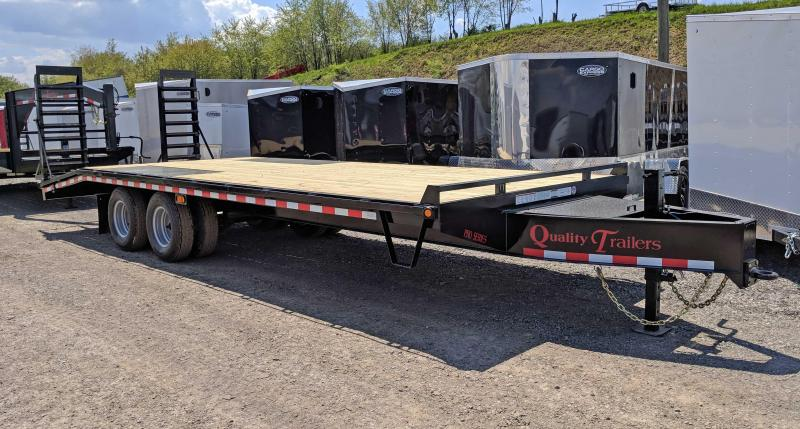 NEW 2019 Quality 20+5 HD PRO Deckover Tagalong Trailer w/Spring Assist Ramps