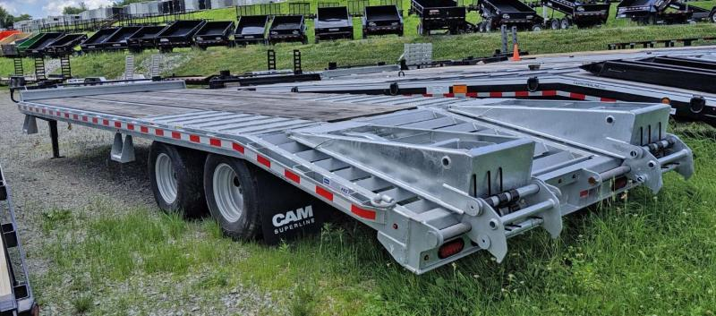 NEW 2019 CAM 20+5 HD GALVANIZED Deckover Tagalong w/ Stand Up Ramps