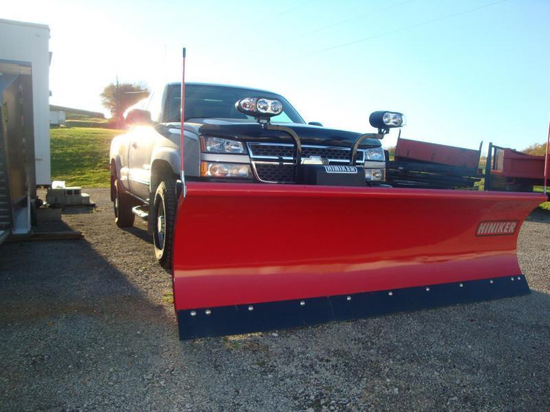 NEW Hiniker 8' HD Conventional Snow Plow