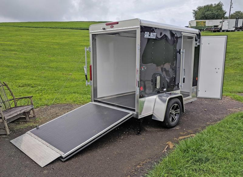 "NEW 2019 Car Mate 5 X 8'5"" Enclosed Cargo Trailer w/Ramp"