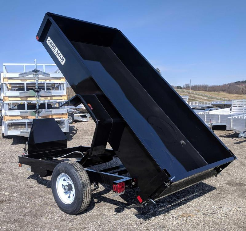 NEW 2019 Bri-Mar 5x10 Lo Pro Dump Trailer