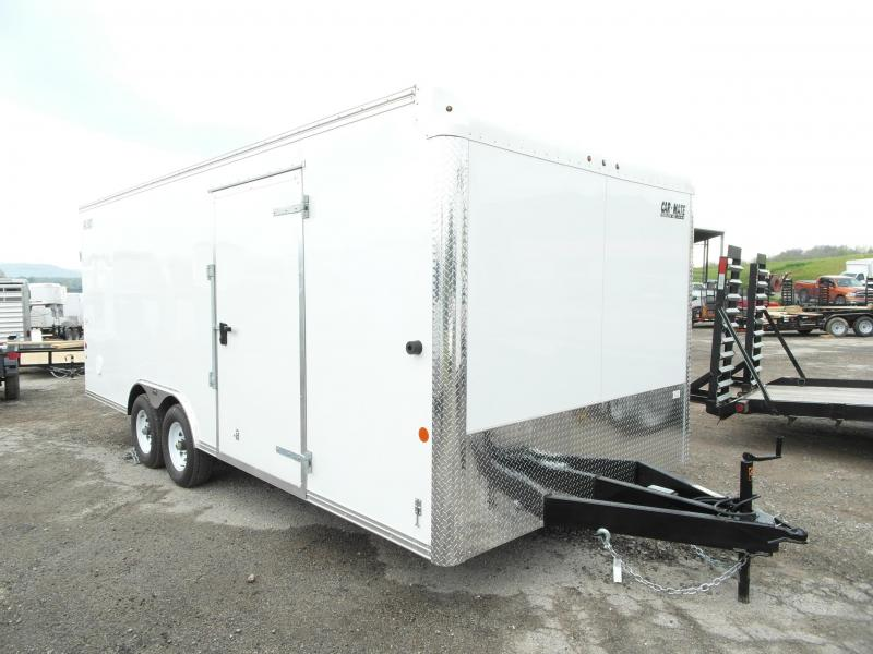 NEW 2016 Car Mate 8x20 HD Custom Car Hauler  w/ Rear Ramp Door