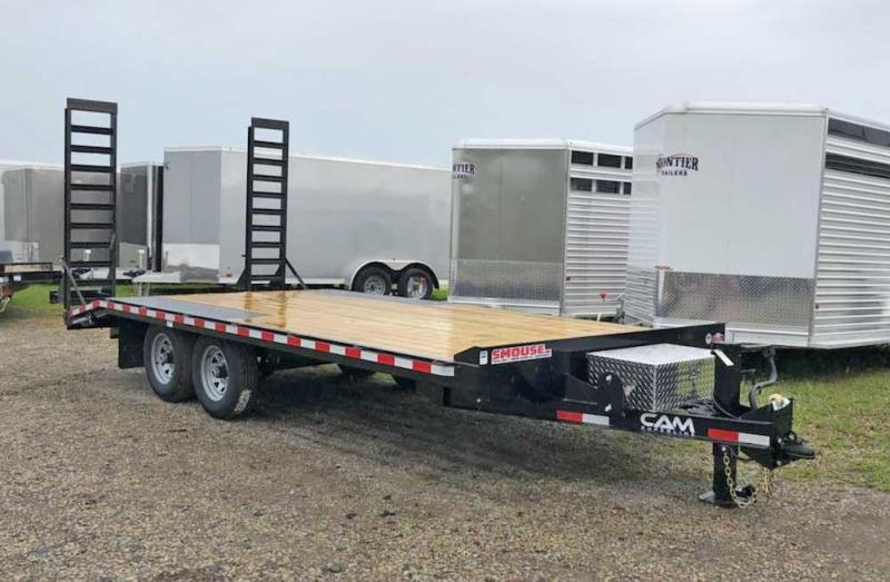 NEW 2019 Cam 15+3 Light Duty Deckover Equipment Trailer