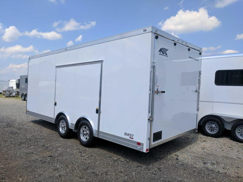 NEW 2018 ATC 8.5 x 20 Quest Car Hauler (9990# GVW)