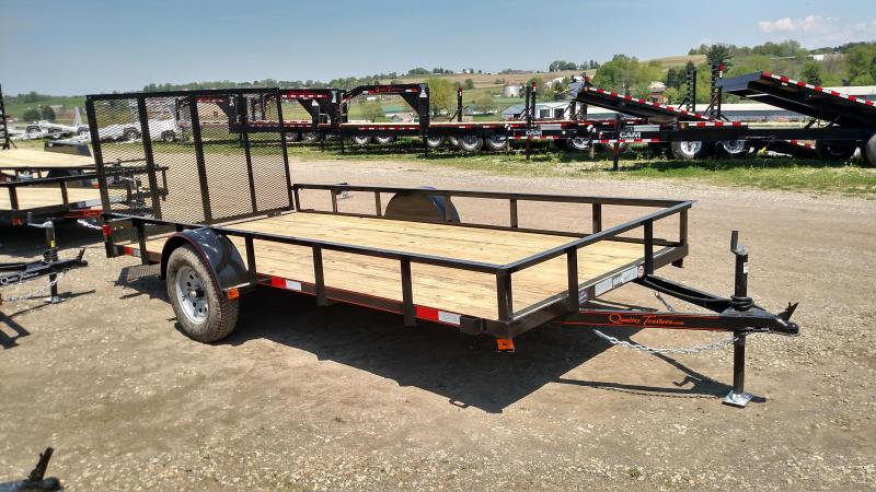 NEW 2019 Quality 6x14 General Duty Utility Trailer