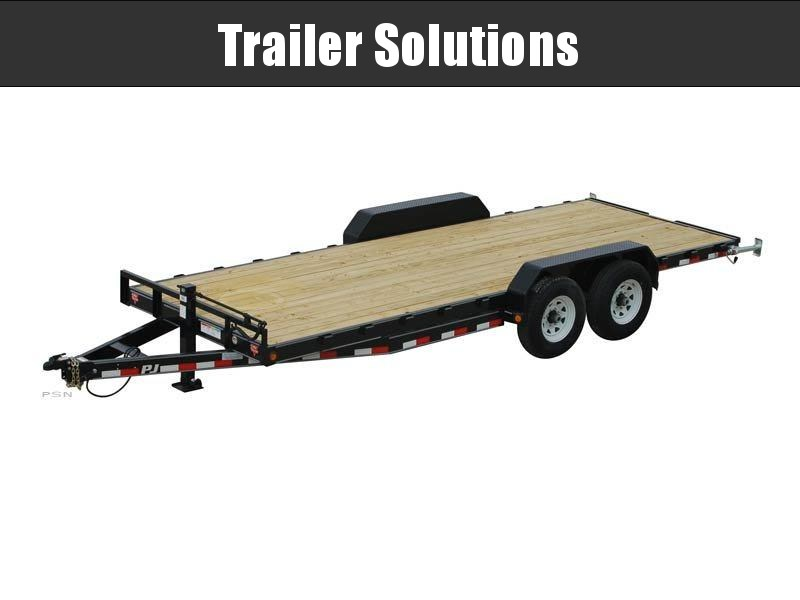 "2019 PJ 24' x 6"" Channel Equipment Trailer"