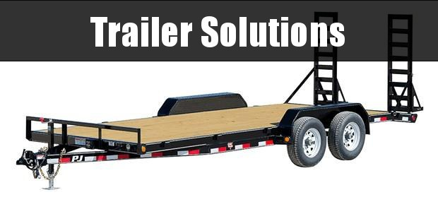 """2019 PJ 20"""" x 83"""" with 5"""" Channel Equpment Trailer"""
