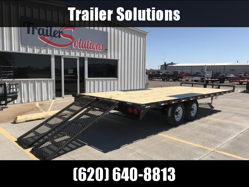 "2019 PJ 20' x 101"" Medium Duty Deckover Trailer With 6"" Channel"