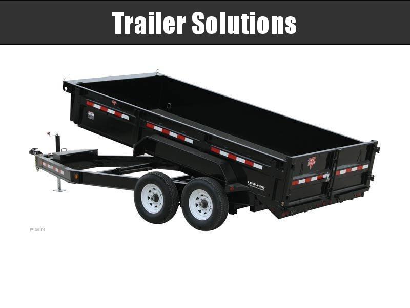 "2020 PJ14' x 83"" Low-Pro Dump Trailer"
