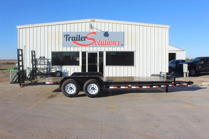 "2019 PJ 20' x 83"" with 6"" Channel Equipment Trailer"