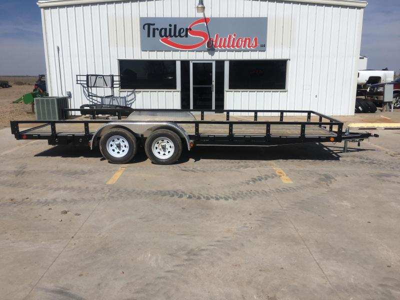 "2019 PJ 20' x 83"" Tandem Axle Channel Utility Trailer"