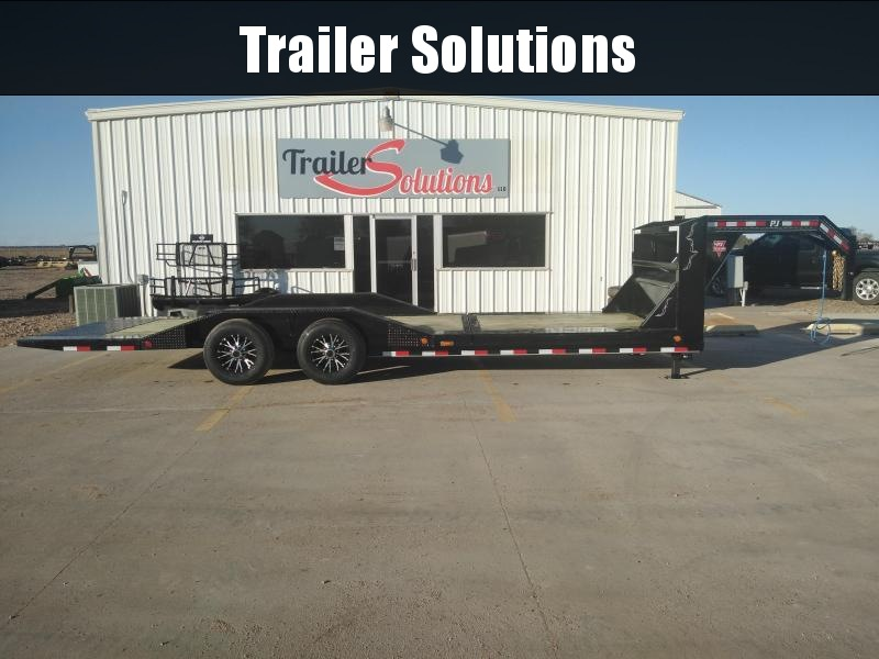 "2019 PJ 24' x 102"" with 6"" Channel Super-Wide Tilt Trailer"