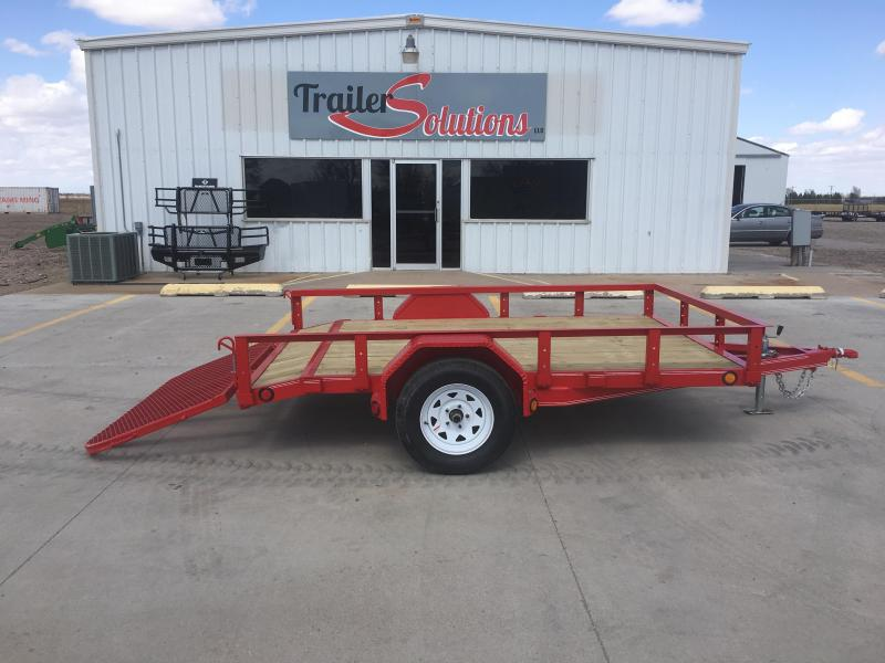 "2019 PJ 10' x 77"" Single Axle Utility Trailer"