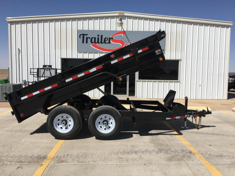 "2019 PJ 12' x 72"" Medium Duty Dump Trailer"