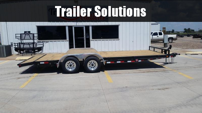 "2019 PJ 20' x 5"" Channel Carhauler Trailer"