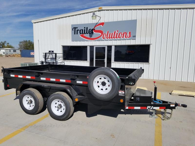 "2018 PJ 12' x 78"" Medium Duty Dump Trailer"