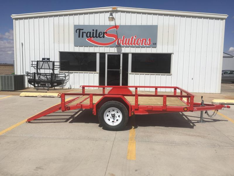 "2019 PJ 10'x72"" Single Axle Utility Trailer"