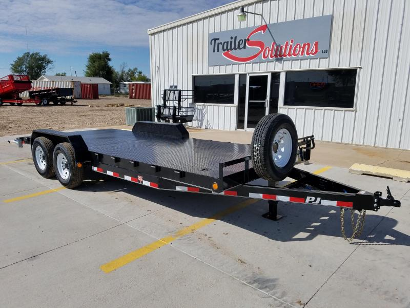 "2018 PJ 20' x 83"" 6"" Channel Carhauler Trailer"