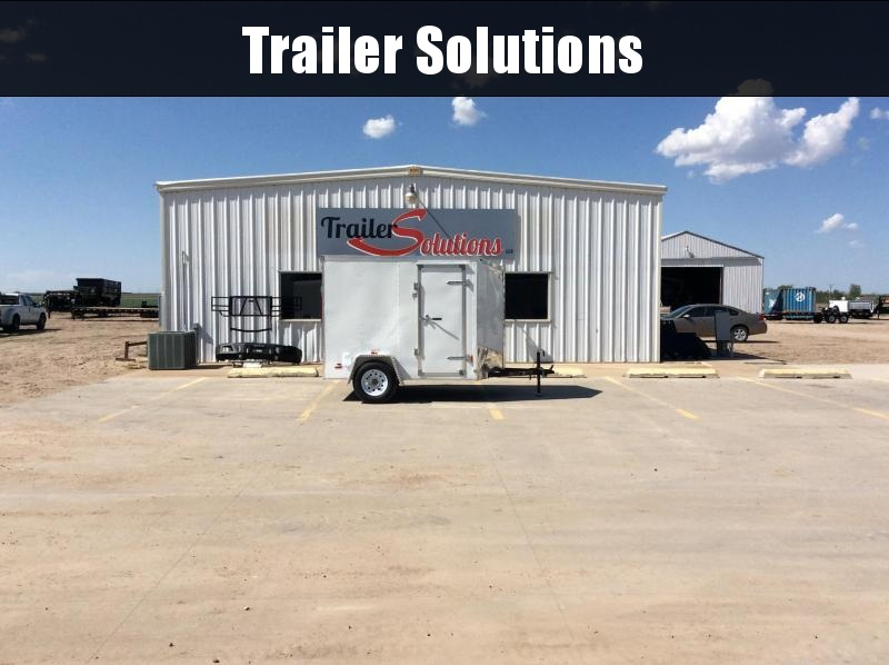 2019 RC Trailers 6 x 8 Enclosed Trailer