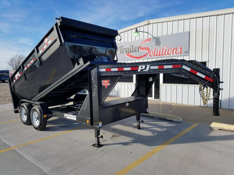 "2018 PJ 14' x 83"" Rollster Roll Off Dump Trailer"