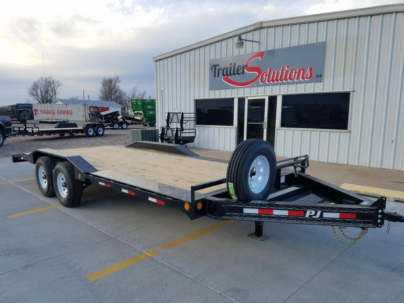 "2018 PJ 20' x 102"" Pro-Beam Super-Wide Equipment Trailer"
