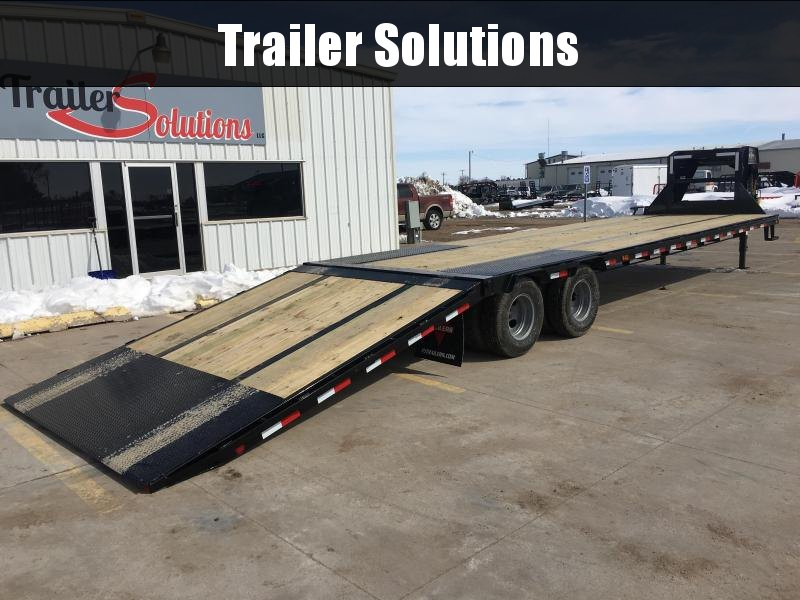 "2019 PJ 36' x 102"" Low-Pro with Hydraulic Dove Trailer"