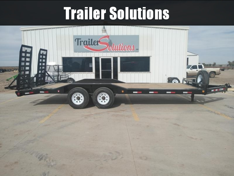 "2019 PJ 22' x 102""  with 8"" Pro-Beam Super-WideTrailer"
