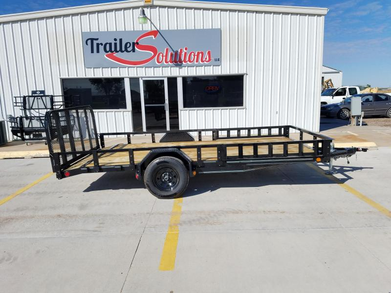 "2018 PJ 14' x 83"" Single Axle Utility Trailer"