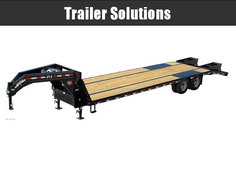 """2019 PJ 25' x 102"""" Low Pro Flat Deck Trailer with Duals"""