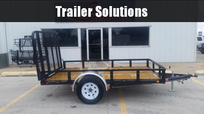 "2019 PJ 10' x 72"" Single Axle Utility Trailer"