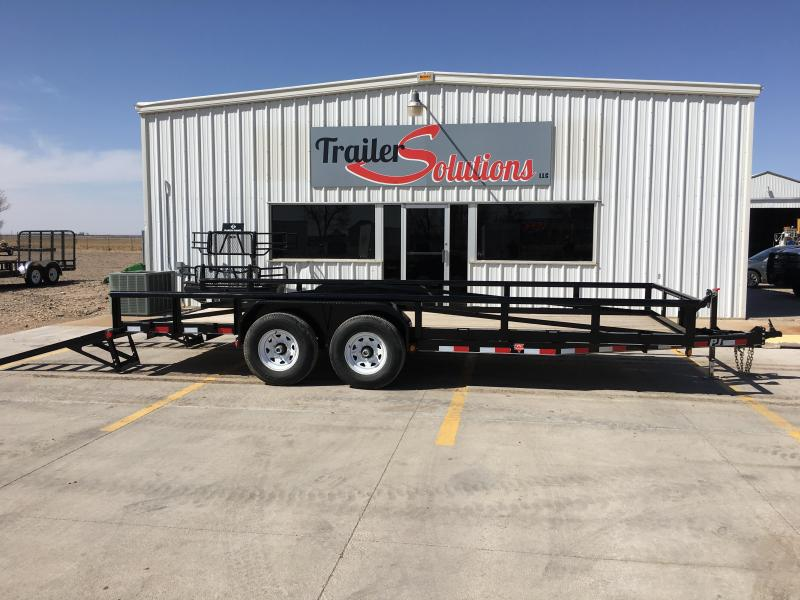 "2019 PJ 20' x 83"" Pipetop Trailer"