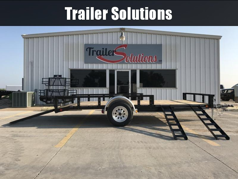 "2019 PJ 14' x 77"" Single Axle Utility Trailer"