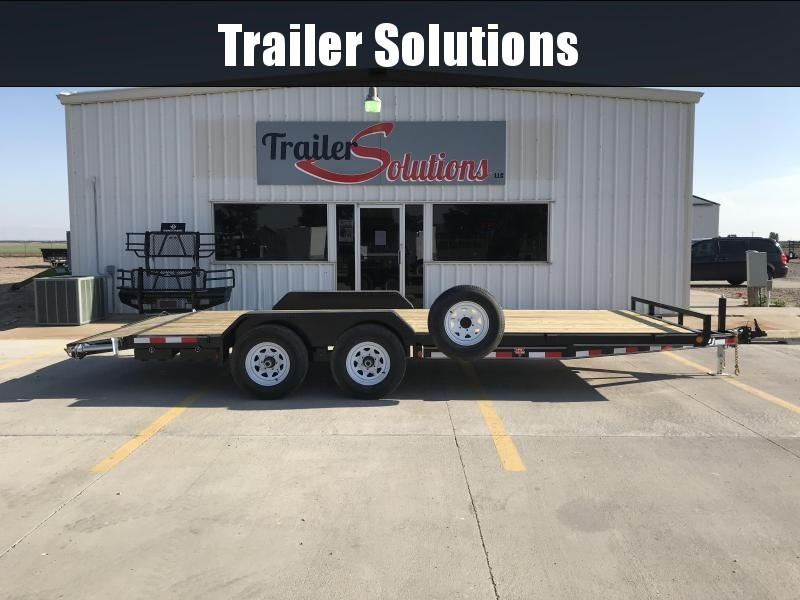 2019 PJ  20' x 5'' Channel Equipment Trailer