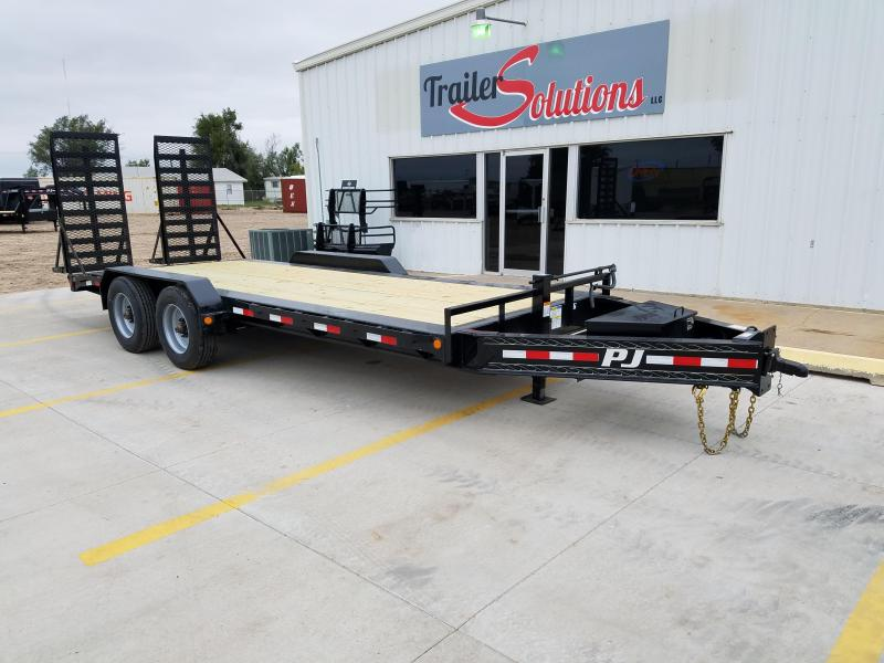 "2018 PJ 20' x 82"" Pro Beam Equipment Trailer"