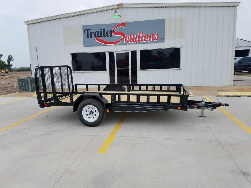 "2018 PJ 12' x 77"" Single Axle Utility Trailer"