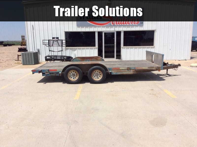 "2006 16' x 83"" Car Hauler Trailer"