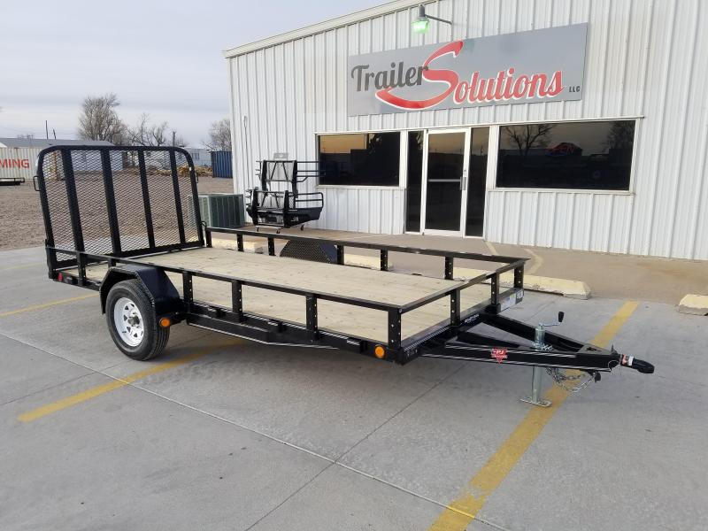 "2018 PJ 14' x 77"" Single Axle Utility Trailer"